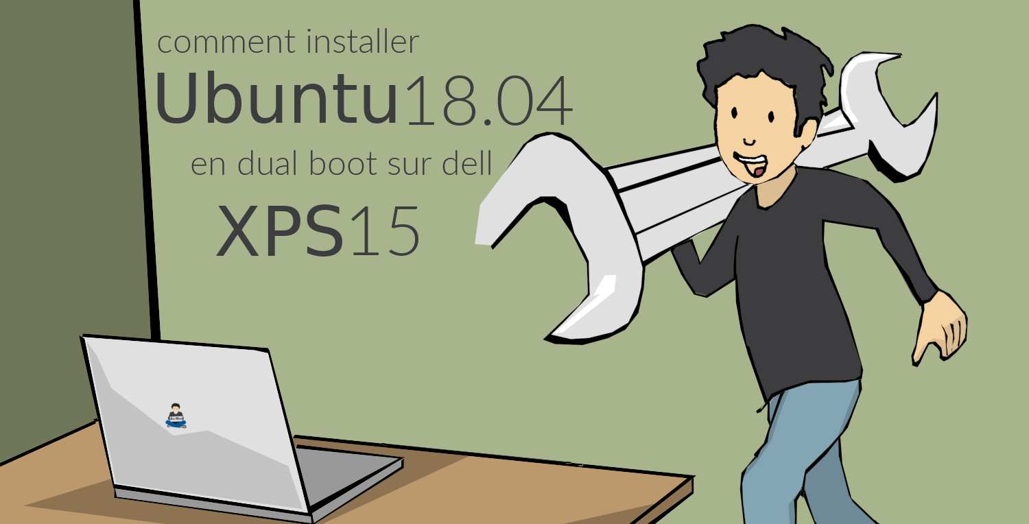 Installer Ubuntu sous XPS15
